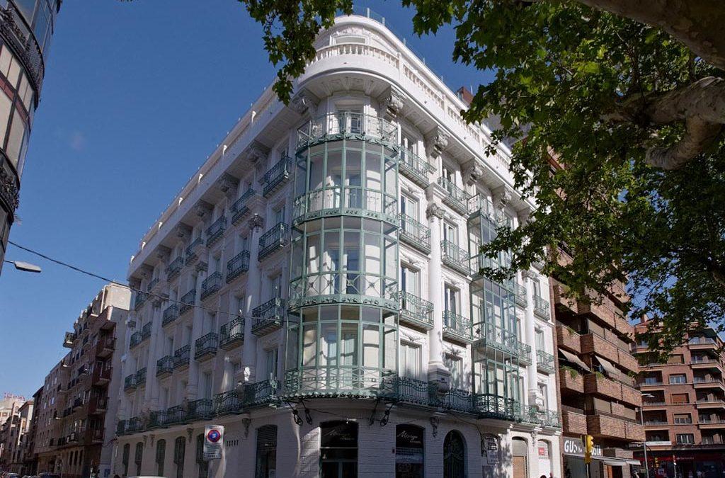 Rehabilitación de edificio catalogado en Paseo Sagasta 21 (Zaragoza)
