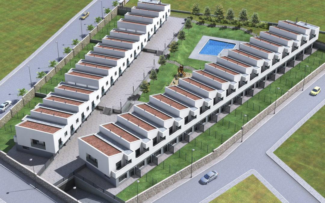 30 Viviendas unifamiliares y garajes en Magallón (Zaragoza)