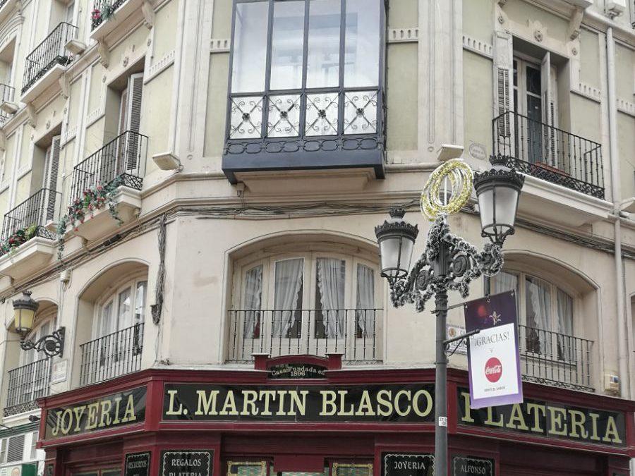 Rehabilitación de edificio catalogado en calle Alfonso I nº 14 de Zaragoza