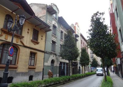 Rehabilitación de edificio catalogado en calle Cabo Noval de Oviedo