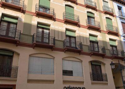 Rehabilitación de edificio catalogado en calle Alfonso I nº 31 de Zaragoza