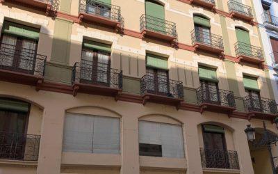 Comenzamos con el proyecto de Rehabilitación de edificio en la Calle Alfonso I de Zaragoza