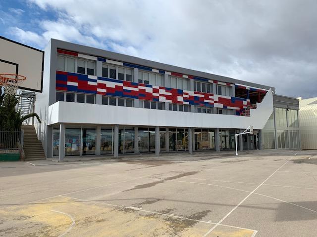 Avance en las obras del Colegio Británico de Aragón