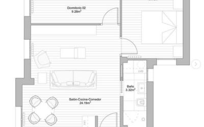 Empezamos con la reforma de este apartamento en Zaragoza