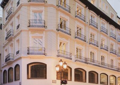 Rehabilitación de edificio catalogado en calle Alfonso I de Zaragoza
